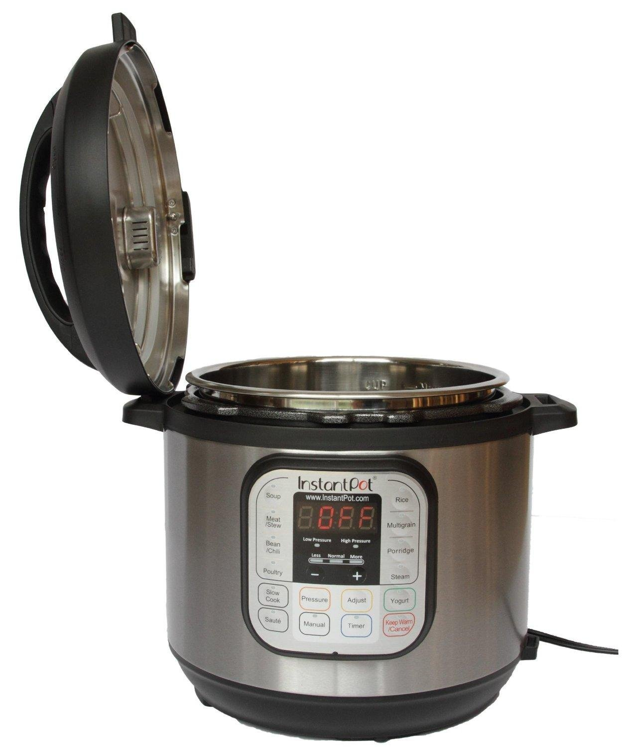 Details About 8 Qt Instant Pot IP DUO80 7 In 1 Programmable Electric Pressure Cooker