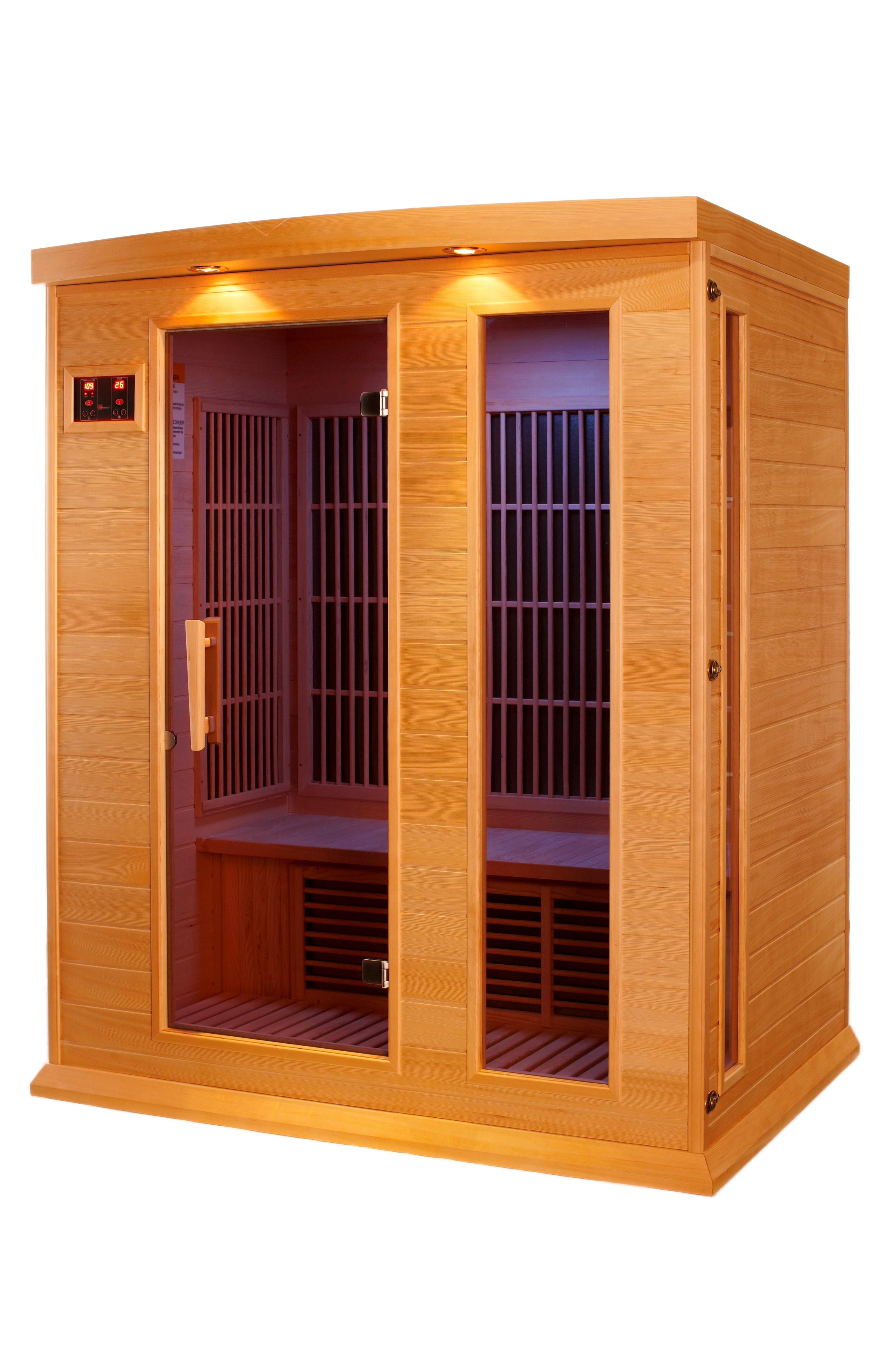 Amazon Com Dynamic Saunas Maxxus 3 Per Low Emf Far