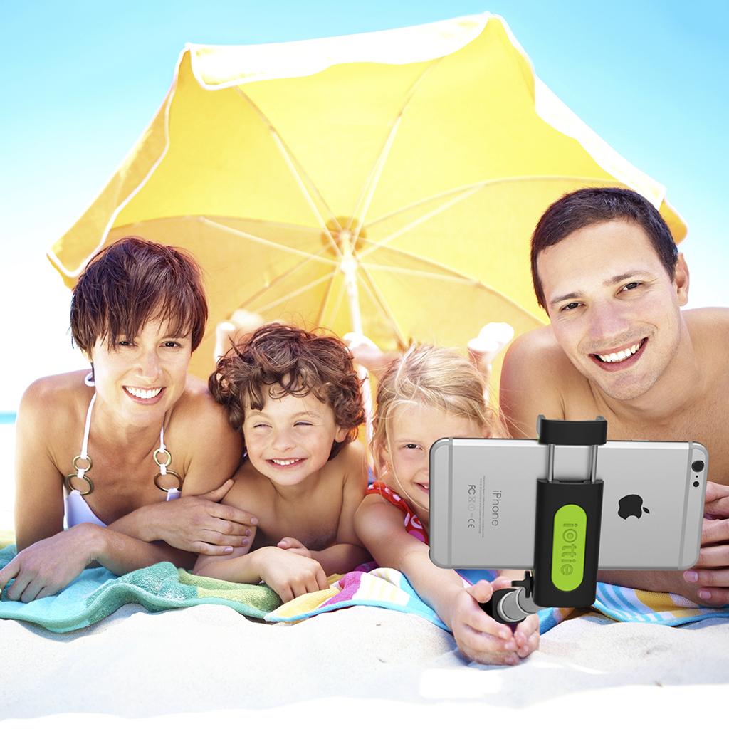 Iottie Migo Selfie Stick With Built In Bluetooth Remote: Amazon.com: Selfie Stick, IOttie MiGo Extendable Monopod