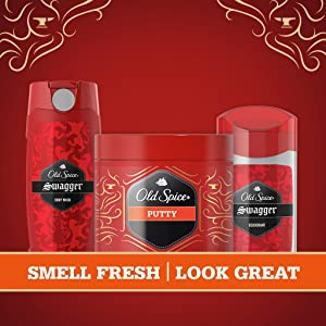 Old Spice 2-in-1, body wash, deodorant