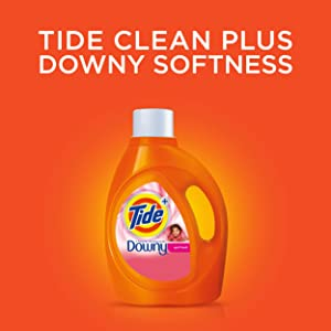 tide detergent liquid laundry with downy april fresh fabric softener 69 oz bottle. Black Bedroom Furniture Sets. Home Design Ideas