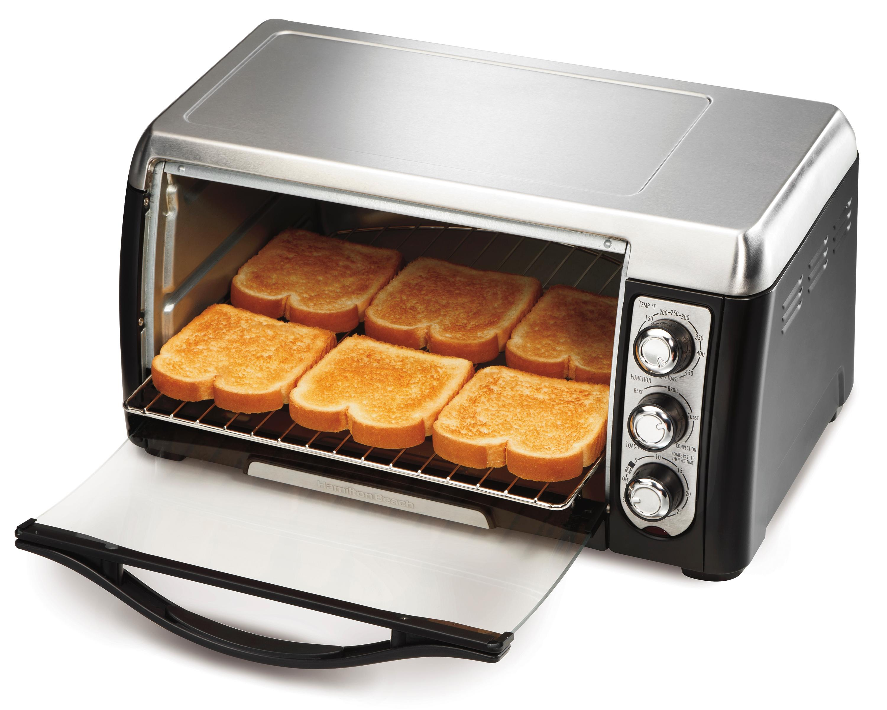 Amazon Com Hamilton Beach 31809c 6 Slice Toaster Oven