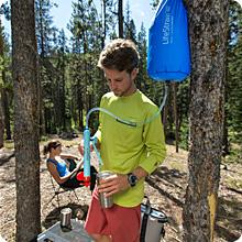 Life Straw Mission comes in 5L or 12L sizes. It's easy to pack and great for group camps and hikes.