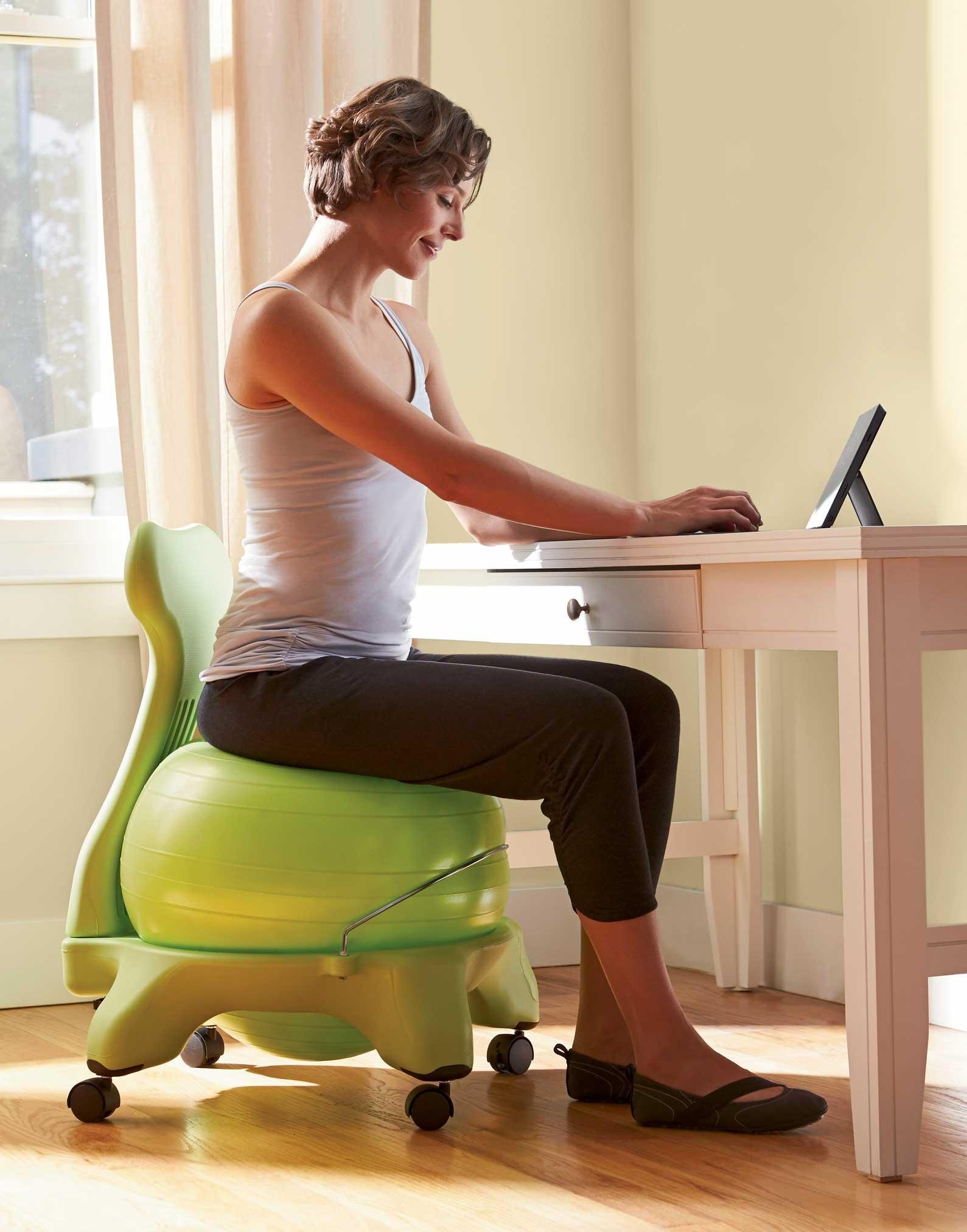 Amazon.com: Gaiam Balance Ball Chair – Exercise Stability
