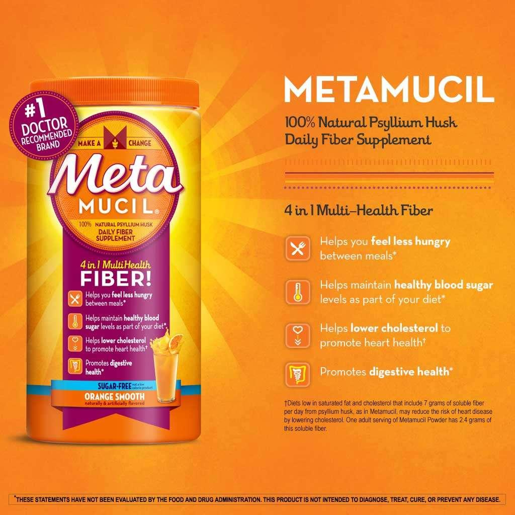 metamucil dose for weight loss