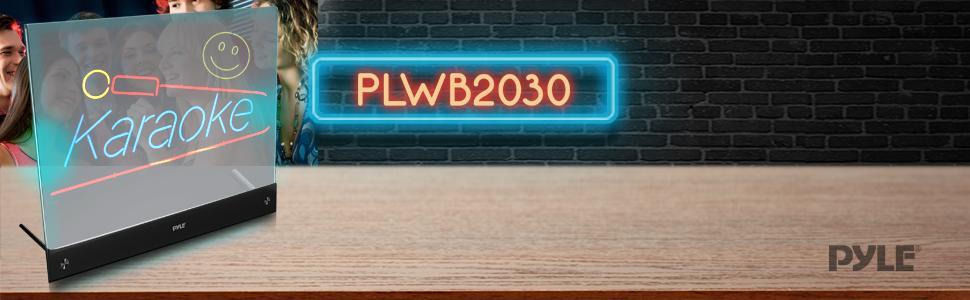Amazon Com Pyle Erasable Desktop Illuminated Led Writing
