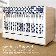 Made in Europe Crib