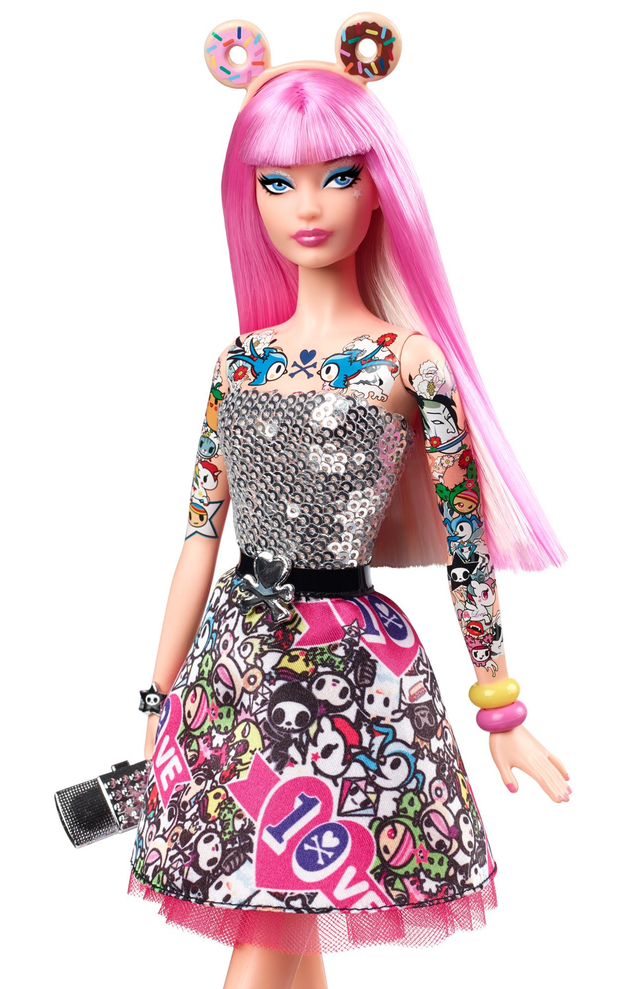 Amazon.com: Barbie 10th Anniversary Tokidoki Barbie: Toys ...