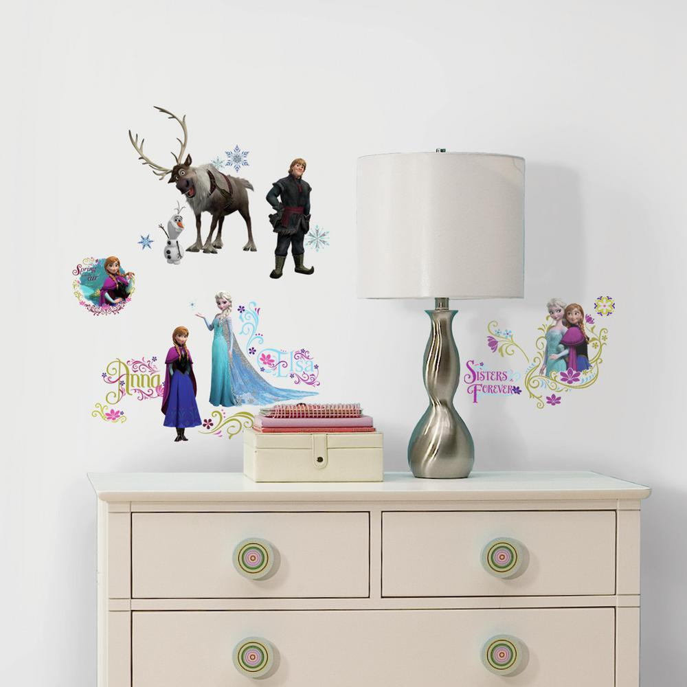 Includes 36 Disney Frozen Wall Decals. View Larger. Roommates Decor ...