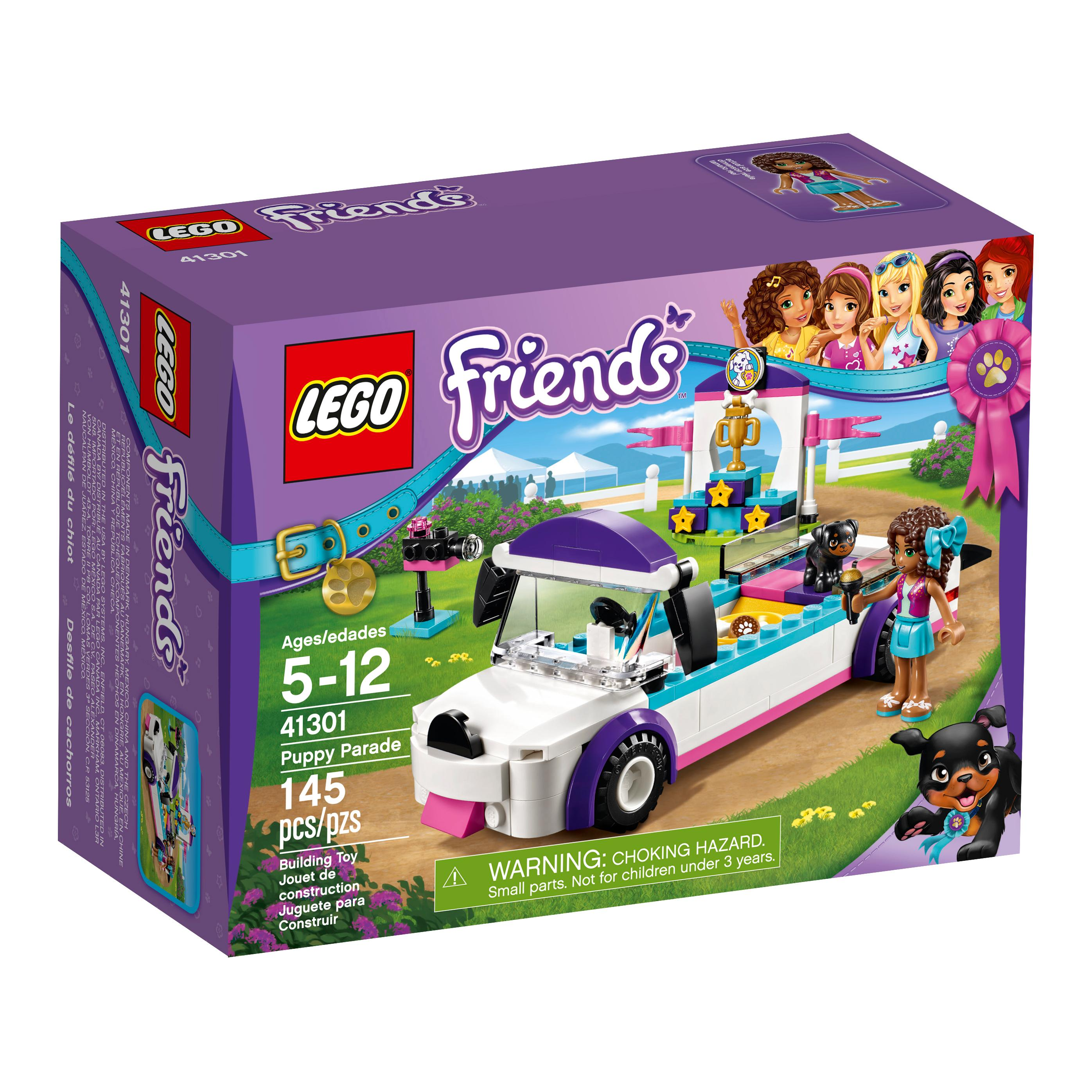 Toys For Friends : Amazon lego friends puppy parade building kit