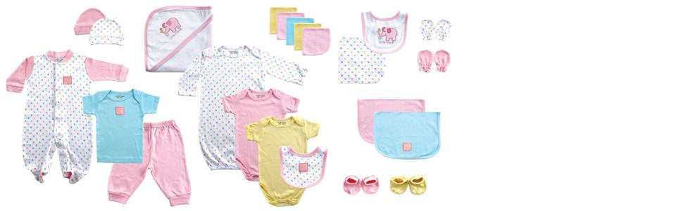 Amazon luvable friends baby 24 piece gift cube clothing luvable friends and hudson baby gift sets are the perfect baby shower gift negle Gallery