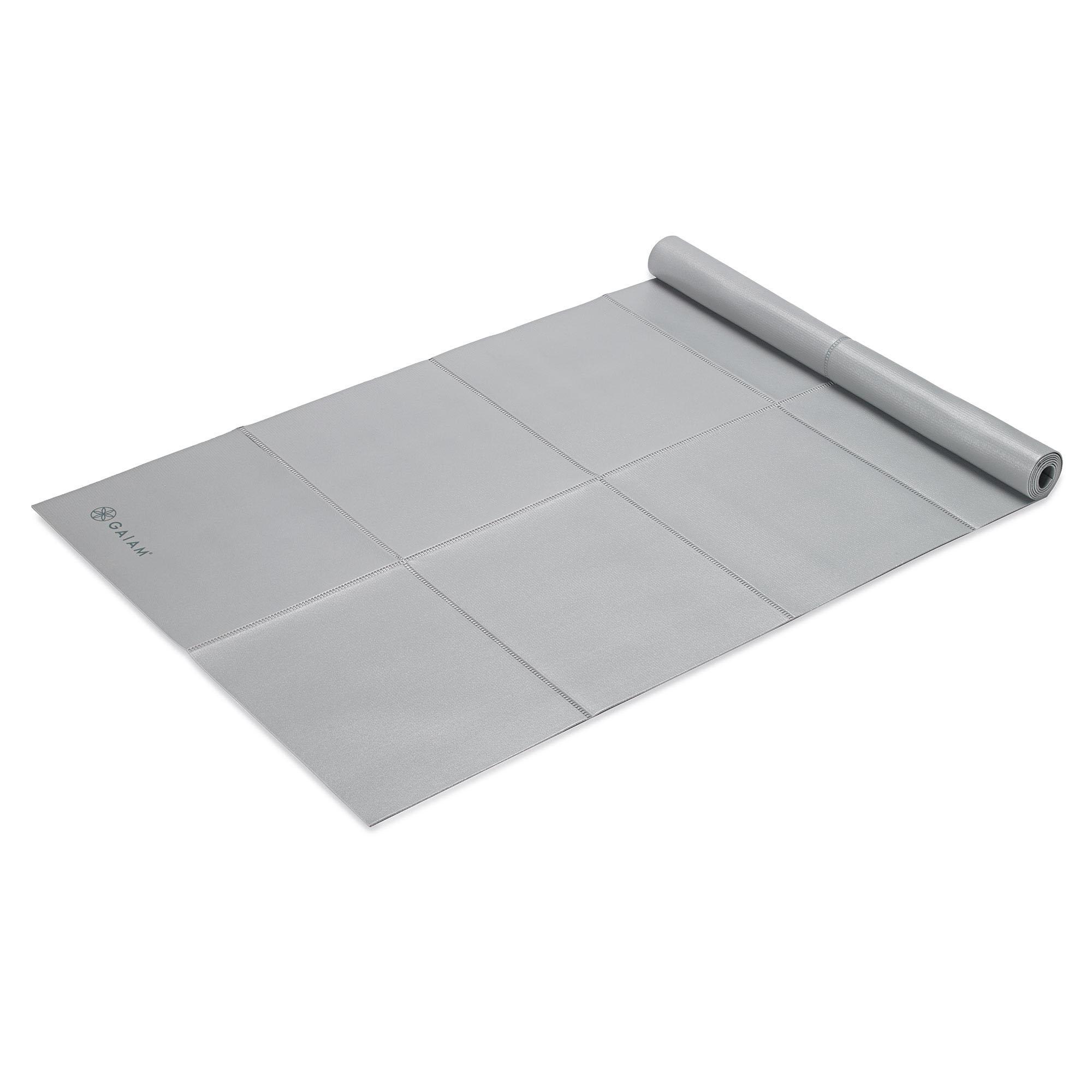 Amazon Com Gaiam Foldable Yoga Mat Be Free 2mm