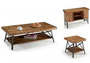 Amazon Com Emerald Home T100 0 Chandler Cocktail Table Wood Kitchen Amp Dining