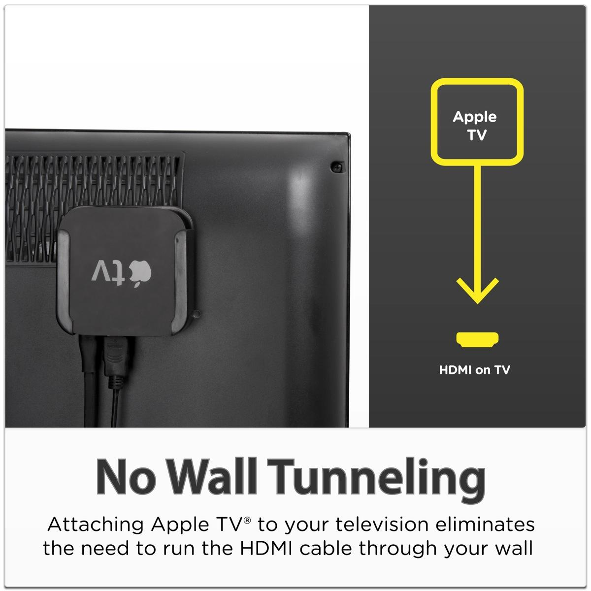 Amazon Com Totalmount Apple Tv Mount Compatible With 2nd