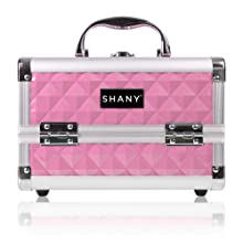 makeup train case fashion cosmetics case trendy makeup bag organizer