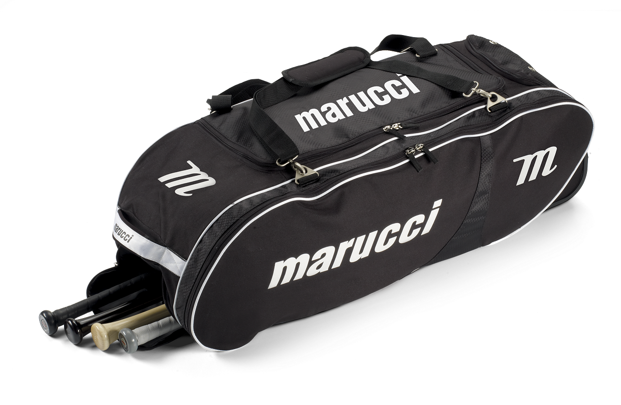 Amazon Com Marucci Rolling Player Bag Sports Amp Outdoors