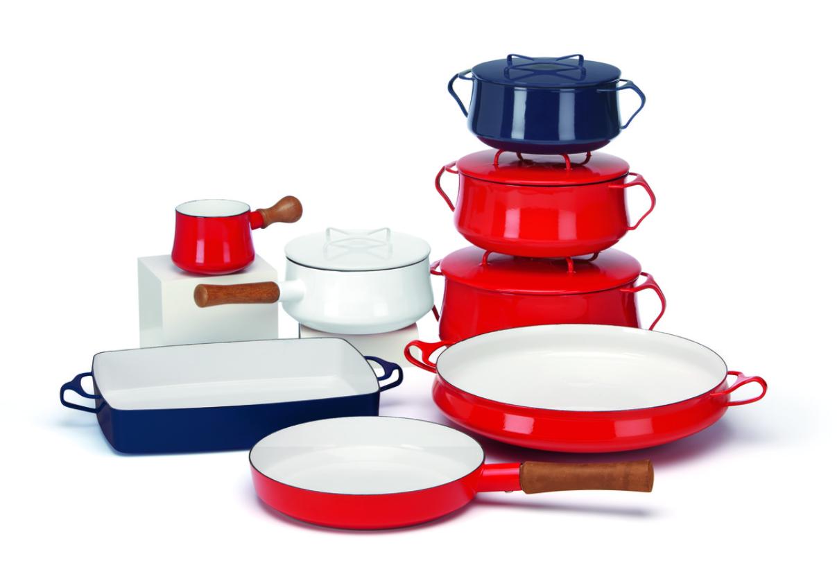 View larger  sc 1 st  Amazon.com & Amazon.com: Dansk Kobenstyle Chili Red Casserole 4-Quart: Kitchen ...