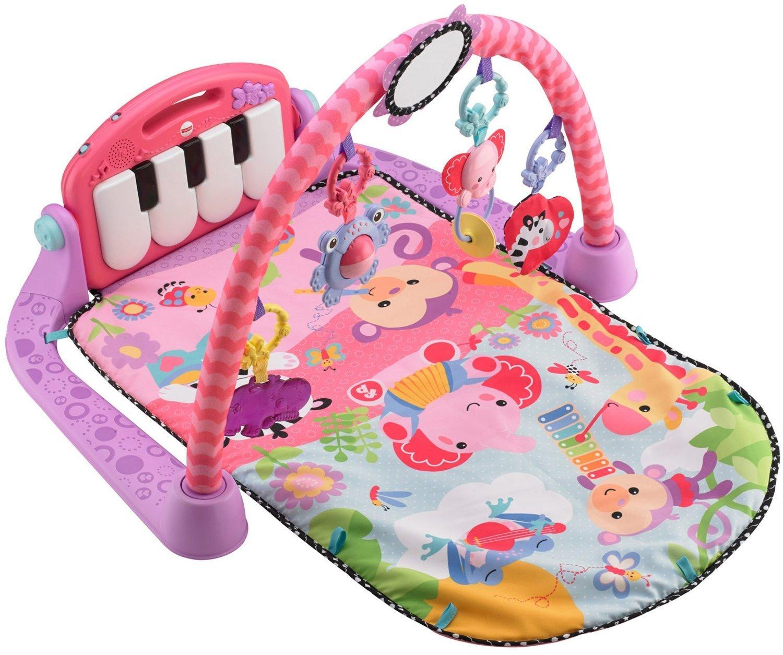 Amazon Com Fisher Price Kick And Play Piano Gym Pink