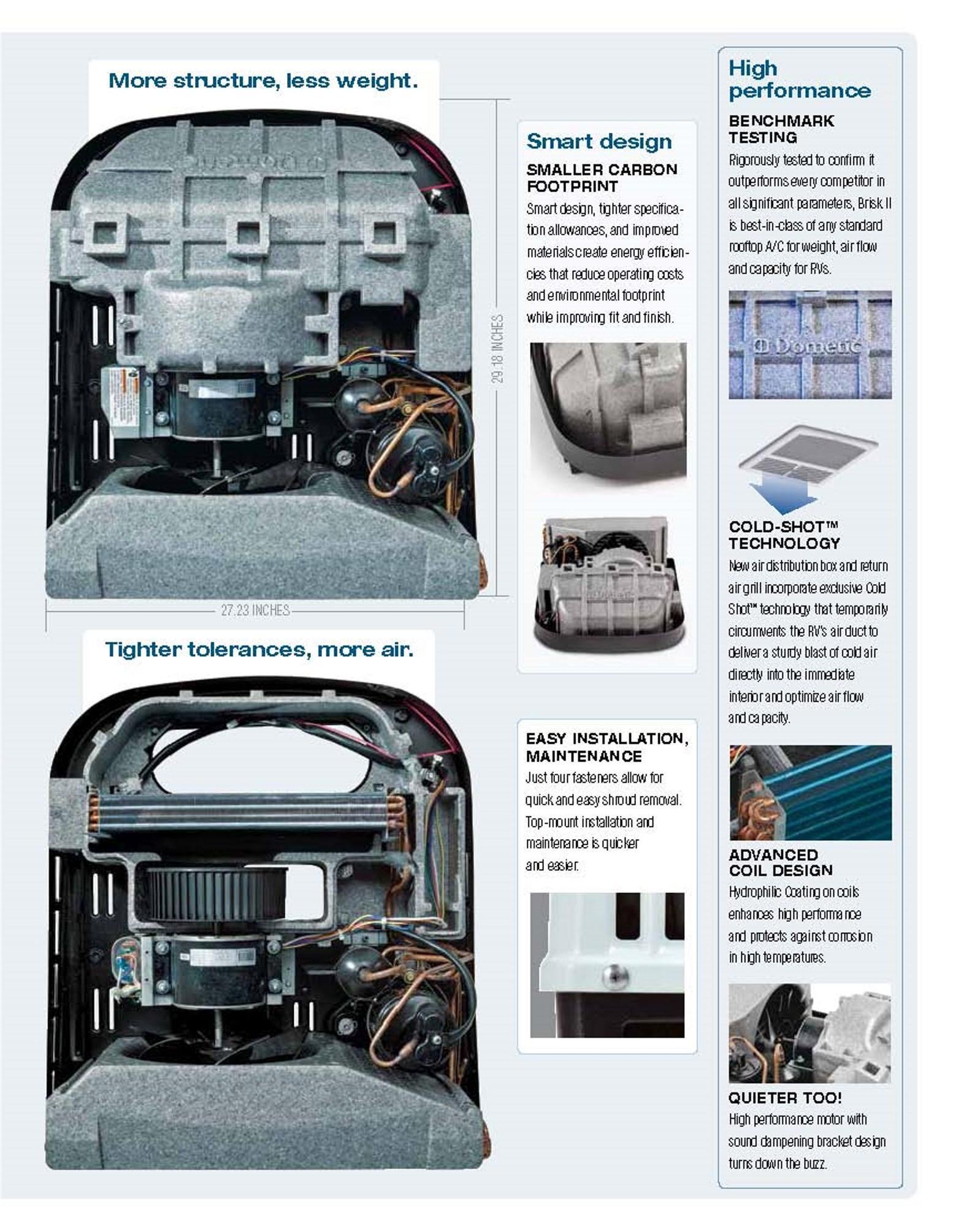 amazon com dometic polar white 15 000 btu conditioners b59516 xx1c0 rh amazon com dometic brisk air ii installation manual