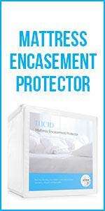 Amazon Com Lucid Encasement Mattress Protector