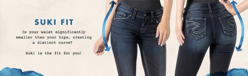 Amazon.com: Silver Jean Women's Suki Surplus Midrise Bootcut Jean ...