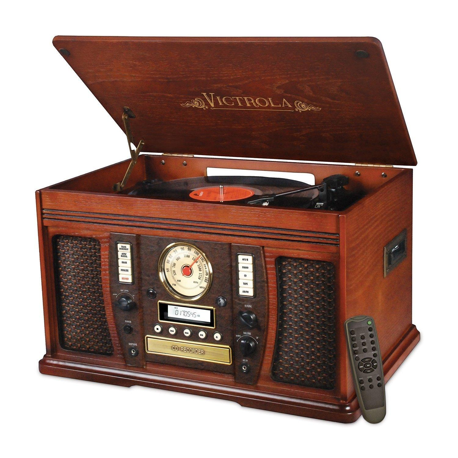 Innovative technology nostalgic wood 6 in 1 for Classic house cd