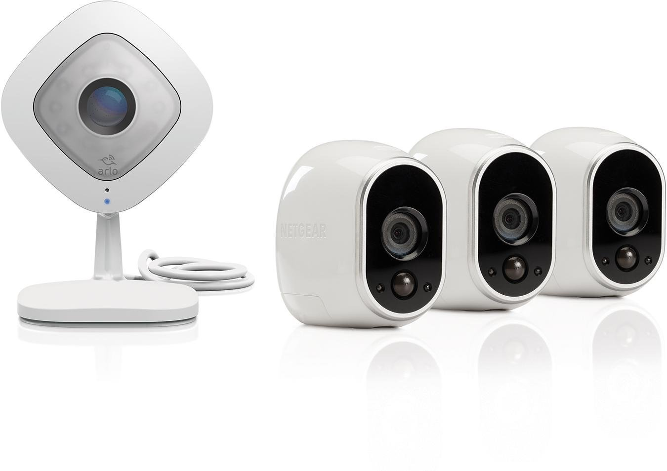 Amazon Com   Arlo By Netgear Security Camera Kit  Outdoor Hd Cameras With
