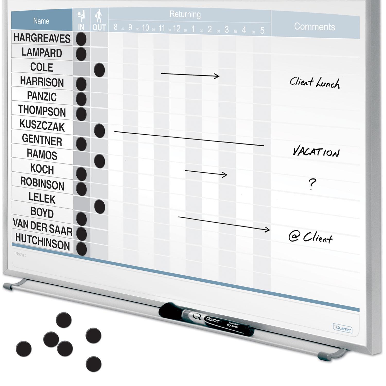 Amazon Com Quartet Matrix In Out Board 23 X 16 Inches