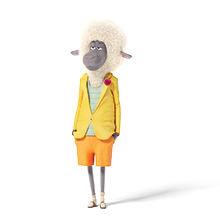Riely, Sheep, illumination, sing, sign