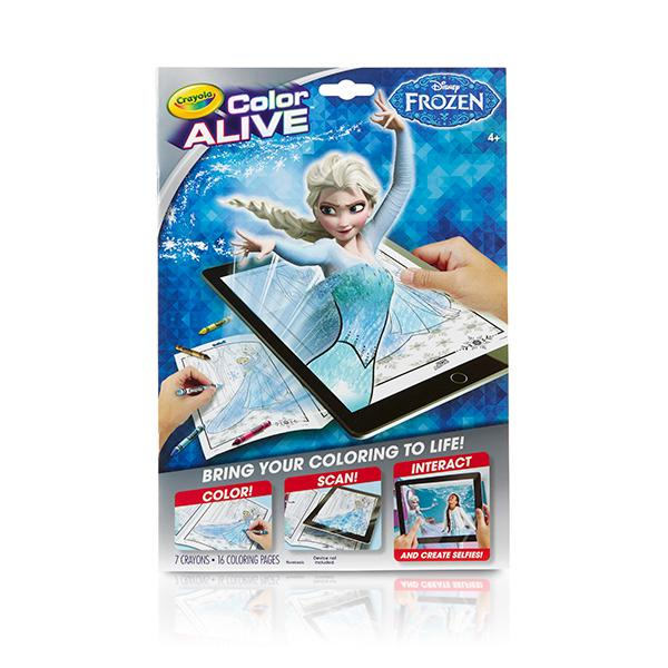 coloring pages action figures - crayola frozen color alive action coloring pages toys games