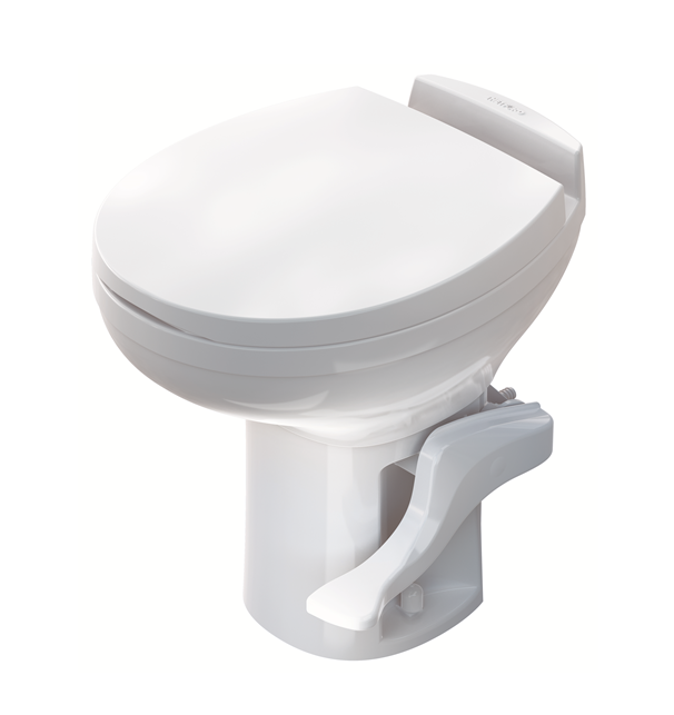 Amazon Aqua Magic Residence RV Toilet High Profile White