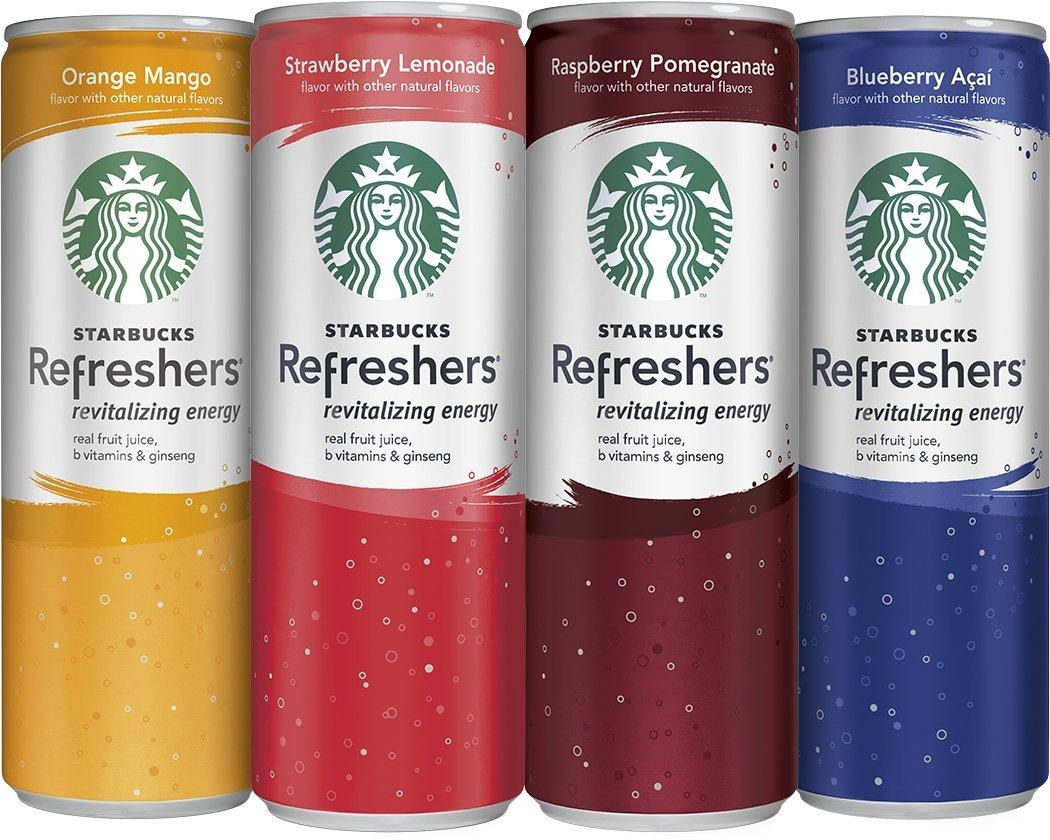 Starbucks refreshers 12 oz can coupon