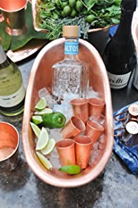 Sertodo, ice bucket, copper cups, cocktail sets, moscow, copper ice bucket, copper champagne bucket