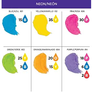 wilton fondant color mixing chart: Amazon com wilton color right performance color system 601 6200