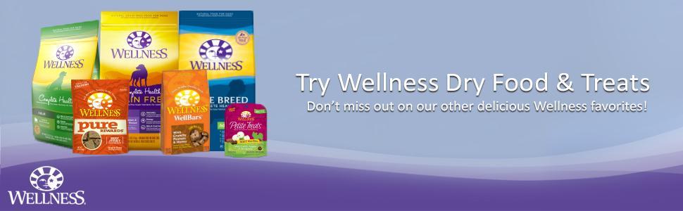 wellness,natural dog food,grain free dog food,canned dog food,wet dog food