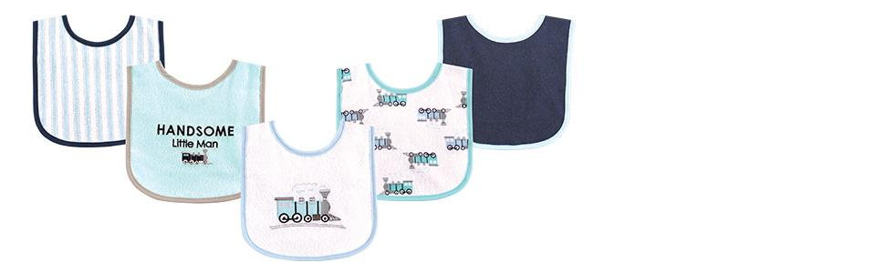 Amazon Com Luvable Friends 5 Piece Character Bib With