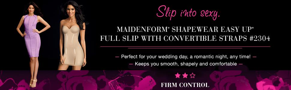 532483e97e4b7 Flexees Maidenform Convertible Full Slip at Amazon Women s Clothing ...