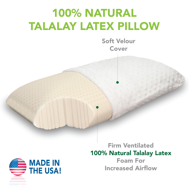 Amazon.com: Classic Brands 100 Percent Natural Talalay ...
