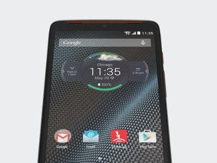 Amazon.com: DROID Turbo, Grey with Metallic Orange accents ...