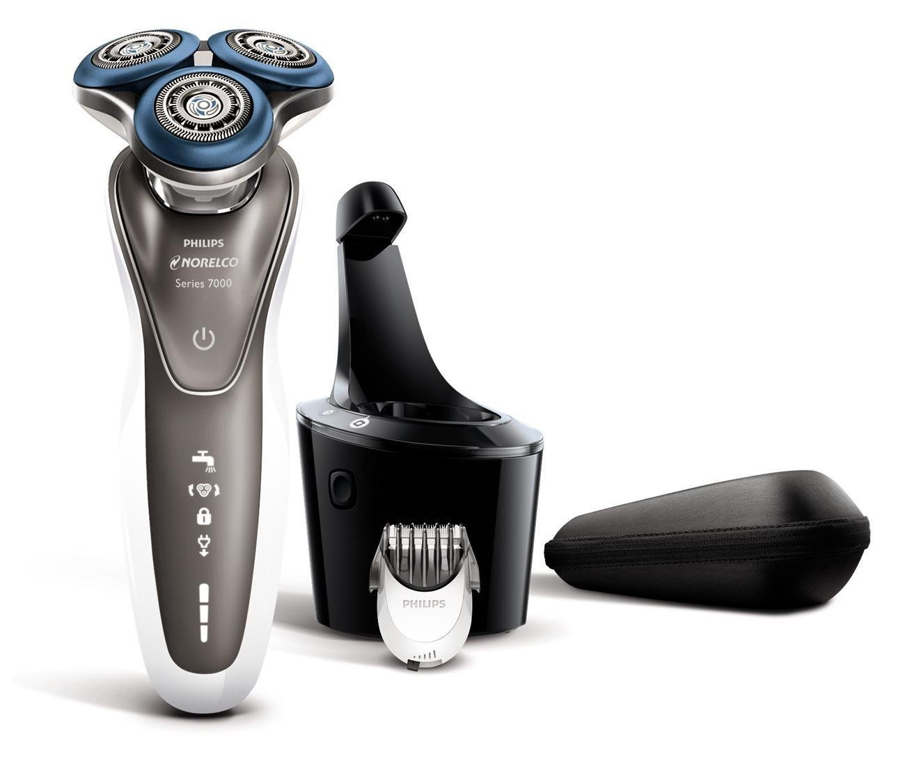 new philips norelco men 39 s electric razor shaver 7500 wet dry s7720 84 ebay. Black Bedroom Furniture Sets. Home Design Ideas