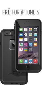 apple, iphone 6, waterproof, lifeproof, fre, water, proof, music, authentic, compare