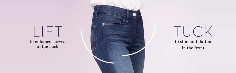 Amazon.com: NYDJ Women's Petite Clarissa Skinny Ankle Jean: Clothing