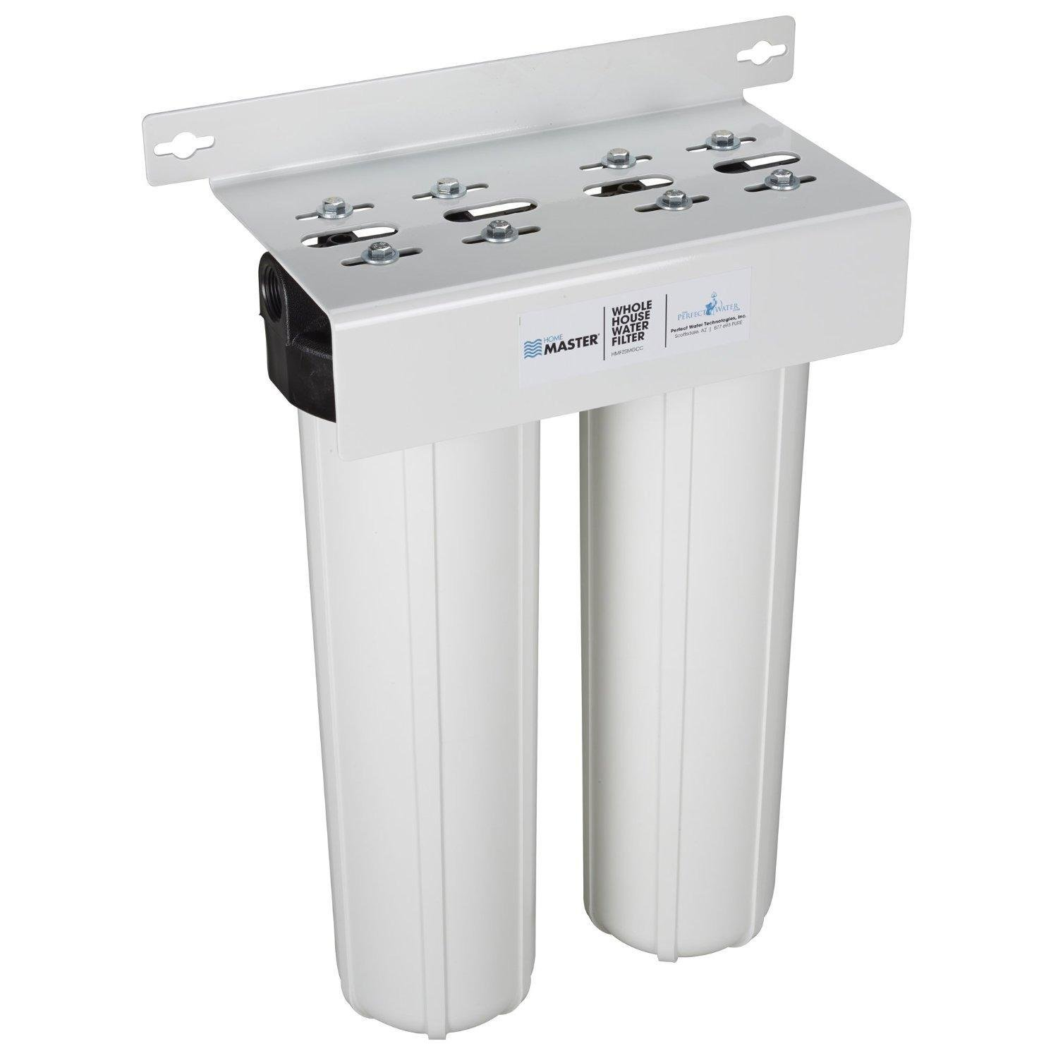 Home Water Treatment Systems Home Master Hmf2smgcc Whole House 2 Stage Water Filter With Multi
