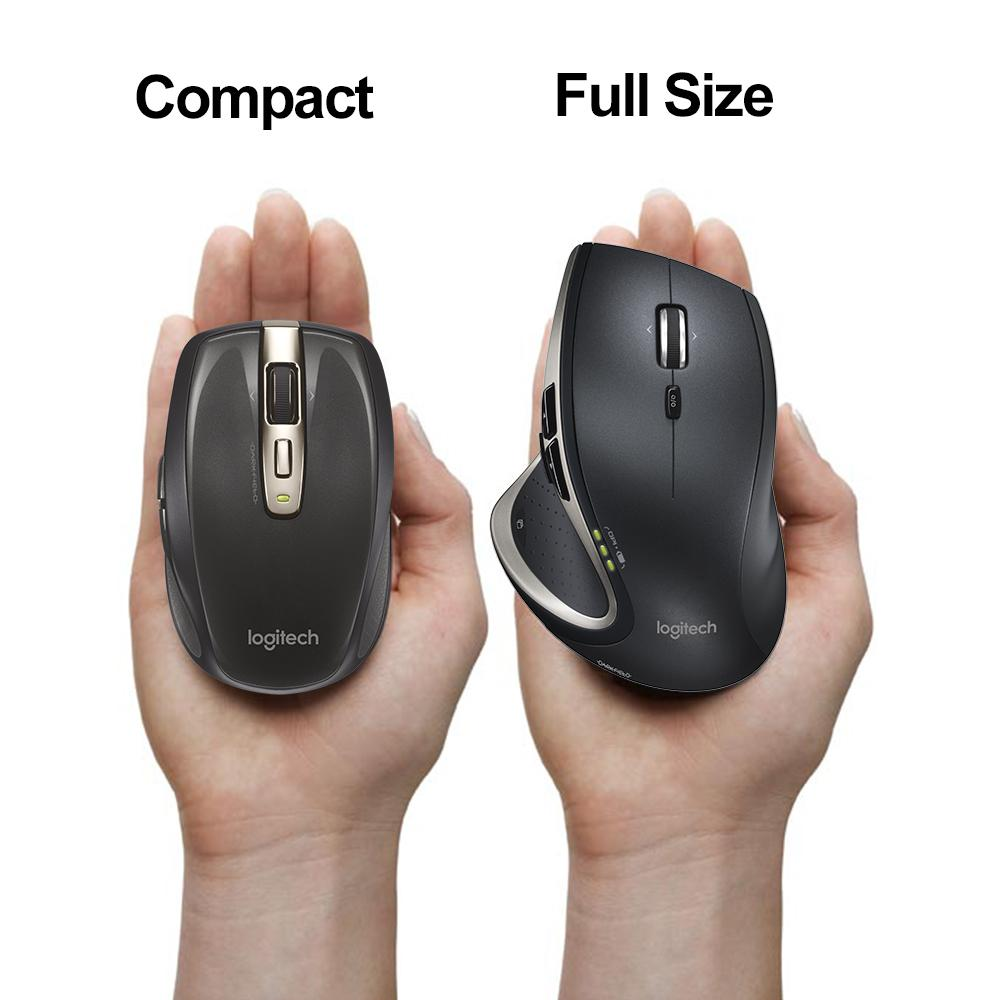 how to connect a logitech mouse to a mac