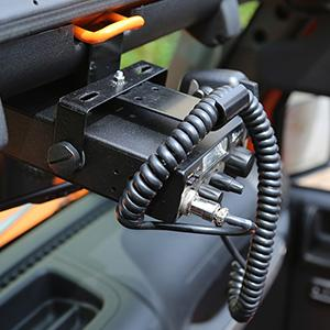 Amazon Com Rugged Ridge 11503 95 Cb Radio Mount Automotive
