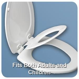 Mayfair 83SLOWA 000/883SLOWA 000 NextStep Adult Toilet Seat with ...
