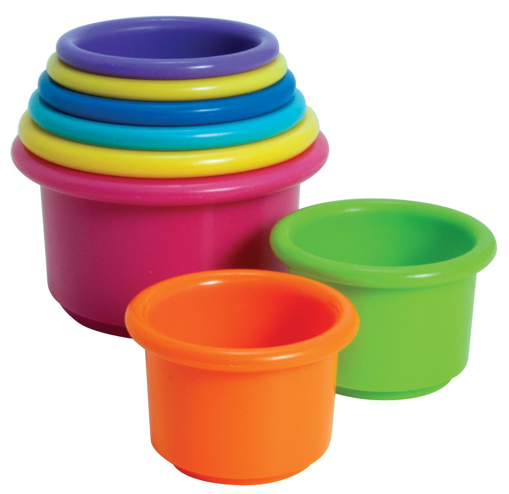 Amazon The First Years Stack Up Cups Baby Drinkware