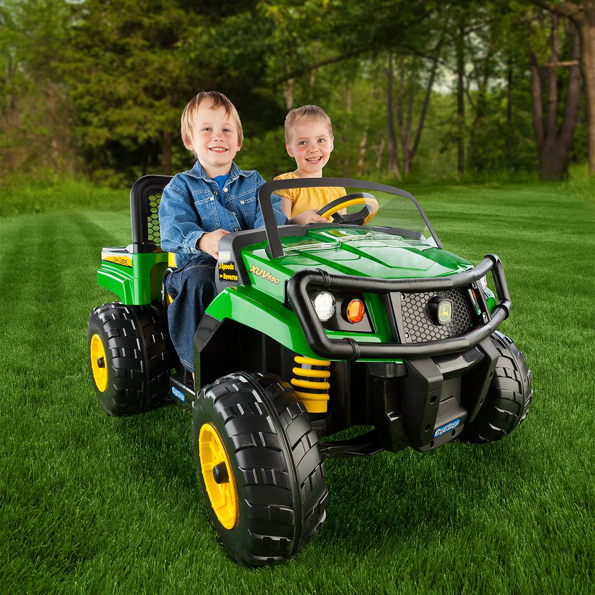John Deere Power Wheels : Amazon peg perego john deere gator xuv green toys