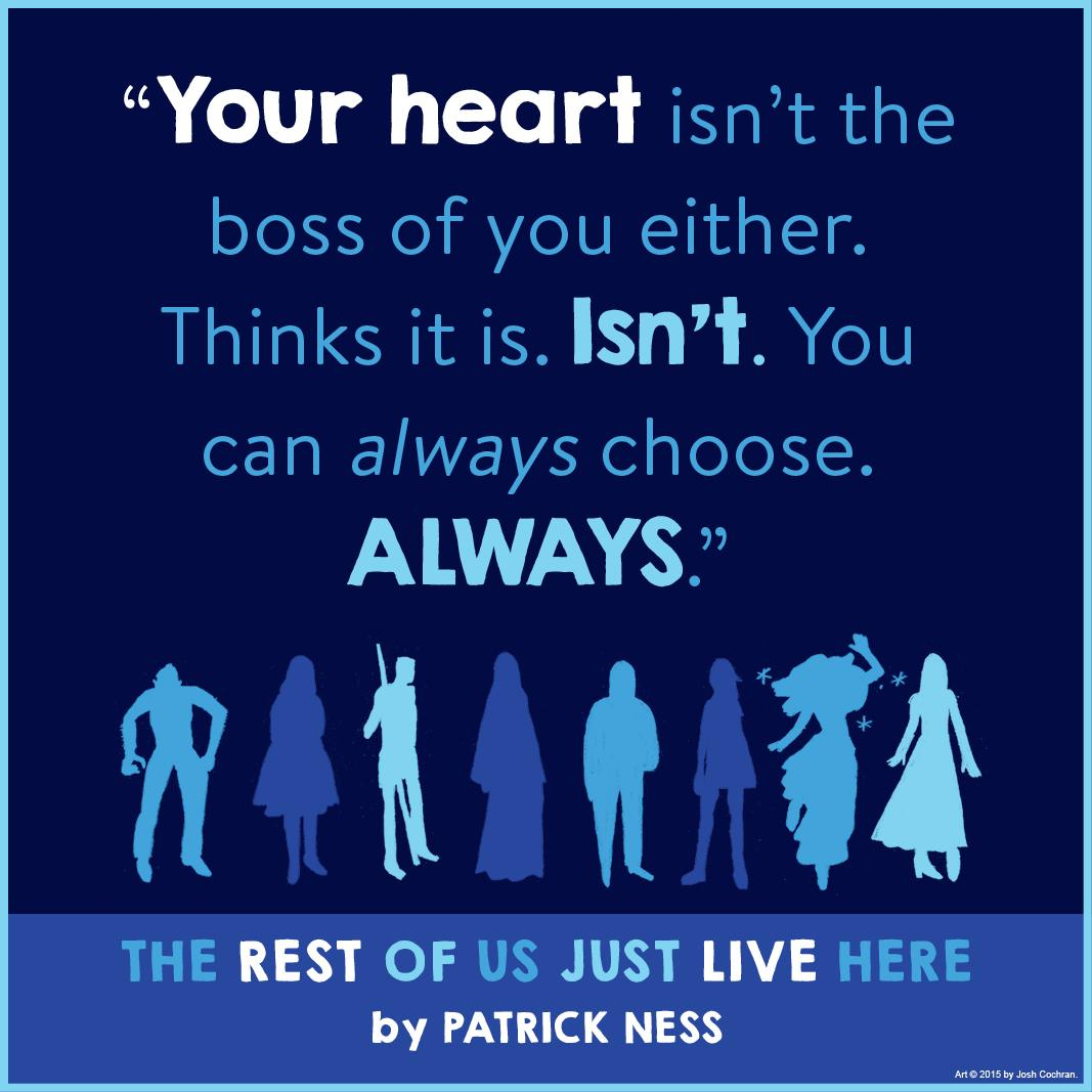 Amazon Com The Rest Of Us Just Live Here Ebook Patrick Ness