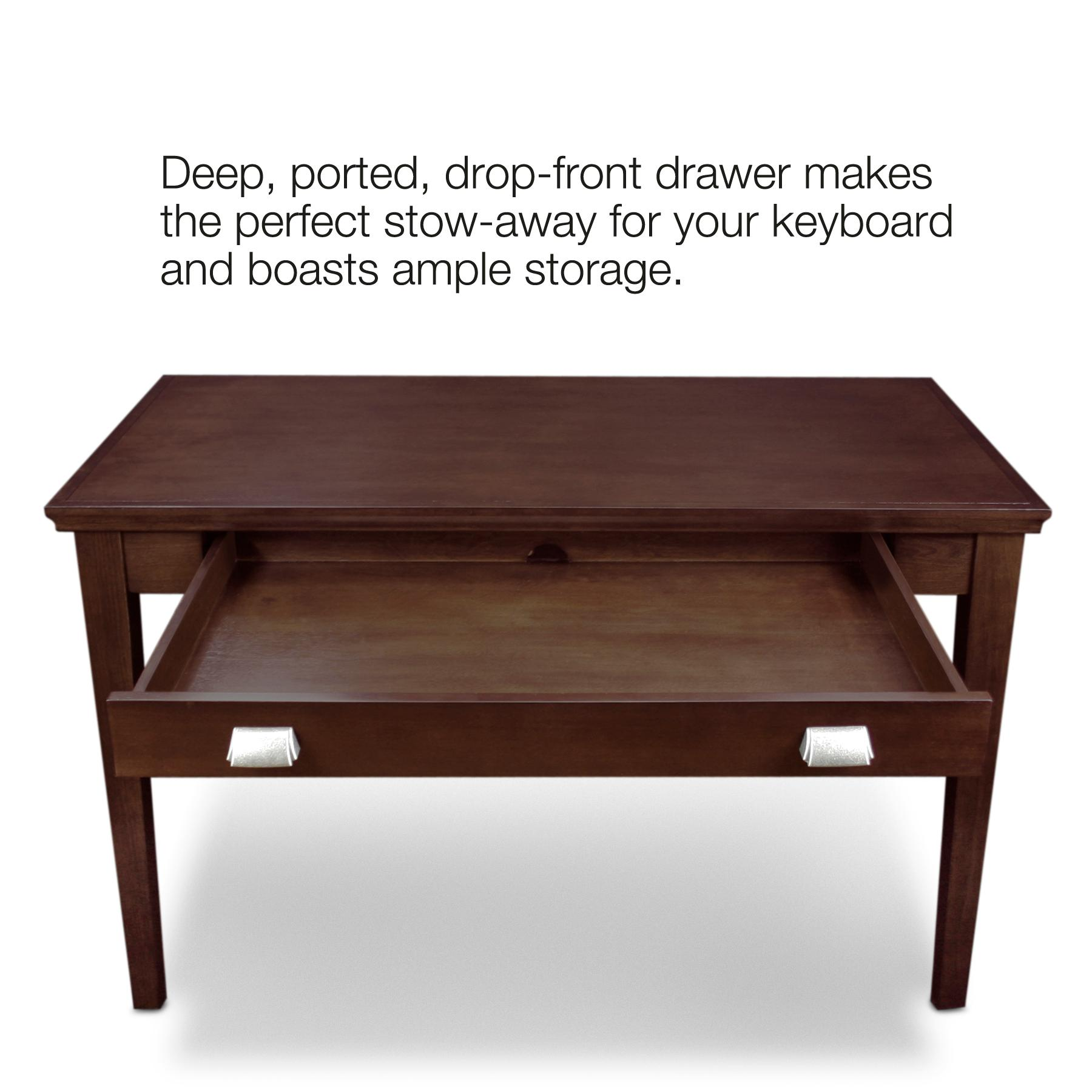 #40231C Amazon.com: Leick Laptop/Writing Desk Chocolate Cherry Finish  with 1800x1800 px of Most Effective Writing Desk Cherry 18001800 wallpaper @ avoidforclosure.info